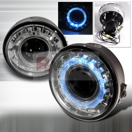 Ford F150 Halo Clear Projector Bumper Fog Lights Lamps