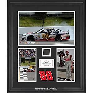 Dale Earnhardt Jr. 2014 Pocono 400 at Pocono Raceway Race Winner Framed 3-Photograph... by Sports Memorabilia