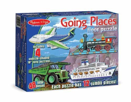Cheap Melissa & Doug Going Places Floor Puzzle by Melissa and Doug (B003L3X6R2)