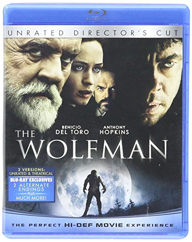 The Wolfman (2010) - Unrated Director's Cut (The Huntsman: Winter's War Fandango Cash Version) [Blu-ray]