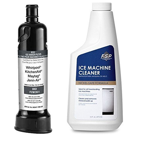 F2WC9I1 Whirlpool Filter+ Plus Free 4396808 Icemachine Cleaner 1 of each