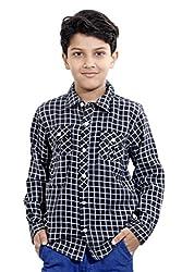 Hushbhi Boy's Shirt (HB0056_Yellow_1-2 Y)