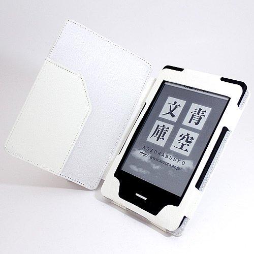 kobo touch 楽天 電子ブックリーダー マグネット式 レザーケース ホワイト