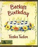 Becky's Birthday: 2 (0670153923) by Tudor, Tasha
