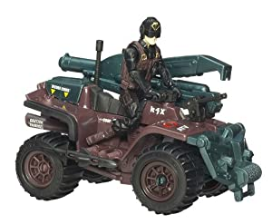GI Joe Movie Alpha Cobra ATV with Scrap Iron