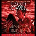Midnight in Ruby Bayou: Donovan Series, Book 4 (       UNABRIDGED) by Elizabeth Lowell Narrated by Robin Rowan