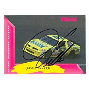 Keller Auto Racing on Amazon Com  Jason Keller Autographed Trading Card  Auto Racing  1993