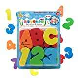 Finerolls Juguetes para el Ba�o - Letras y n�meros de ba�o con organizador. Los mejores juguetes de ba�o educativos con organizador premium y no t�xico sin BPA en las letras de foami. El regalo perfecto para los ni�os.