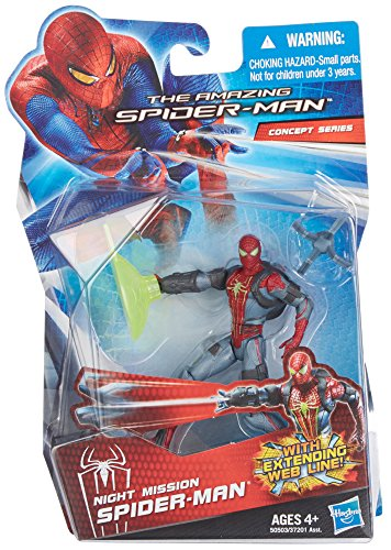 The Amazing Spider-Man Night Mission Spider-Man 3.75 inch Action Figure
