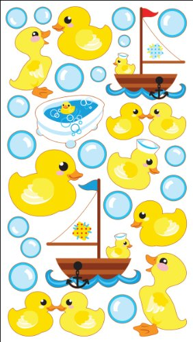 Sparkler Classic Stickers-Rubber Duckies nativist notions
