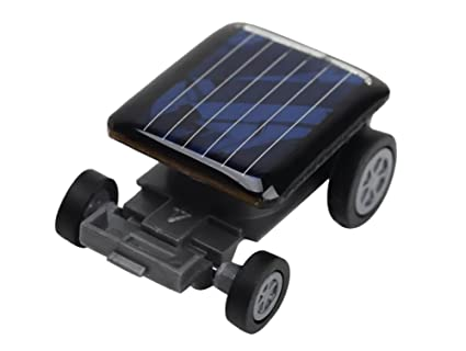 Smallest Toy Cars Solar Power Robot Toy Car