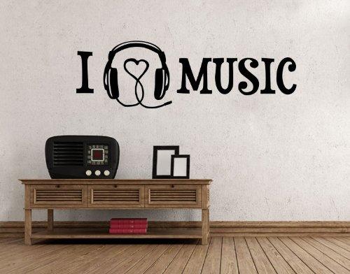 Wandtattoo-I-Love-Music