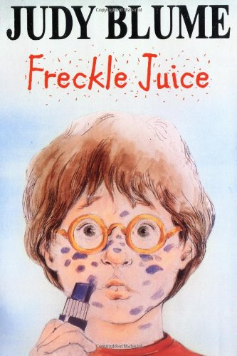 freckle juice by judy blume story I read freckle juice the main character in this book is andrew two other characters are andrew's friend, nicky lane, and sharon who likes to tease andrew.