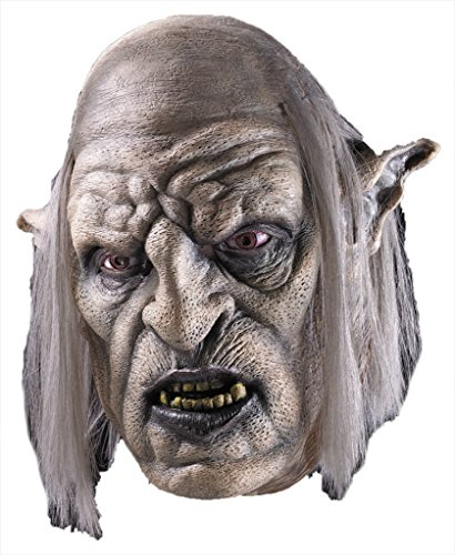 Orc Overseer Lord Of The Rings Movie Hobbit Latex Adult Halloween Costume Mask