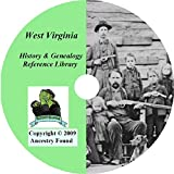 West Virginia History & Genealogy on DVD - 50 books, Ancestry, Records, Family