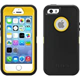 OtterBox Defender Series Hybrid Case/Holster for iPhone 5/5S – Retail Packaging – Hornet