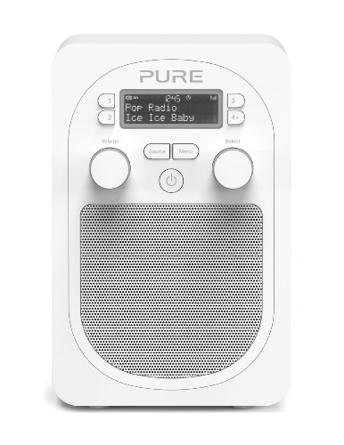 Pure Evoke D2 with Bluetooth Portable DAB/FM Radio - Glacier Black Friday & Cyber Monday 2014