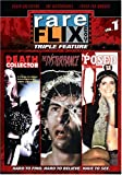 Rareflix Collection  Triple Feature, Vol. 1 (Death Collector, The disturbance and Posed For Murder)