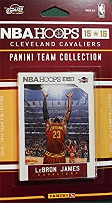 Cleveland Cavaliers 2015 2016 Hoops NBA Basketball Factory Sealed 9 Card Team Set with Lebron James Kyrie Irving Plus