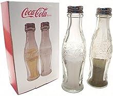 Comprar Cristal Retro Coca Cola Botella Saleros Y Pimenteros