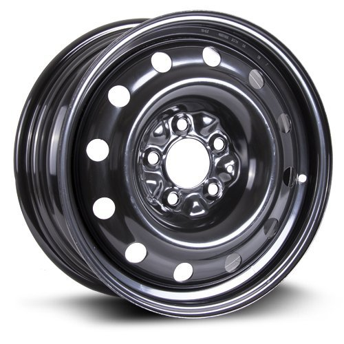 Steel Rim 16X6.5, 5X114.3, 71.5, +40, black finish (MULTI APPLICATION FITMENT) X99128N (Rx8 Spare Tire compare prices)