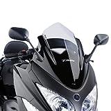 Windshield Puig V-TECHLINE SPORT Yamaha T-MAX 500 08-11 light tinted 30% screen