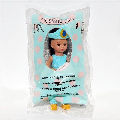 Madame Alexander Doll - Wendy Doll as Jasmine - McDonald's 2004 #1 - 1