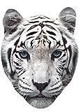 Blanco Tiger Mascarilla (Cartulina mascarilla)