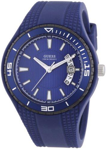 Guess W95143G4 Mens Fin Blue Watch