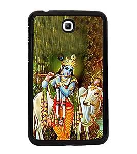 Lord Krishna 2D Hard Polycarbonate Designer Back Case Cover for Samsung Galaxy Tab 3 :: Samsung Galaxy Tab 2 P3200
