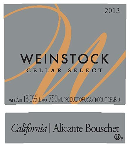 2012 Weinstock Cellar Select California Alicante Bouschet 750 Ml