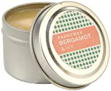 Paddywax Candles Pattern Play Collection Travel Tin Candle 2-Ounce Bergamot and Ivy