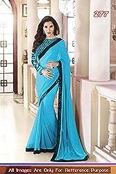Sargam Fashion Traditional Party Wear Beautiful Saree - SR-2051