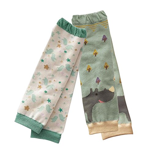 Kris&Ken Unisex Baby Toddler Printed Leg Warmers Kneepads Safety Knee Protector Socks