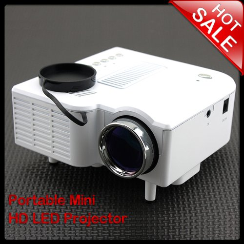 Smrroy Er 5Sd For Home Theater Computer Displayer Portable Mini Multimedia Lcd Projector