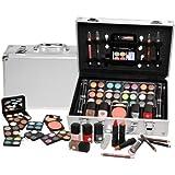 Schmink-Koffer Coffret maquillage dans mallette en aluminium 51 pièces