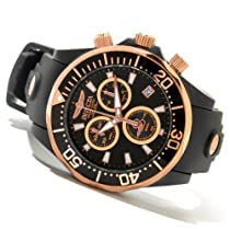Invicta Pro Diver Chronograph Black Dial Stainless Steel Mens Watch 12399