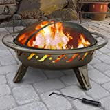 Landmann-Patio-Lights-Firewave-Fire-Pit-Metallic-Brown