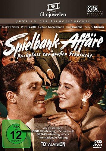 Spielbankaffäre (Spielbank-Affäre) / Parkplatz zur großen Sehnsucht (DEFA Filmjuwelen/DDR) [2 DVDs]
