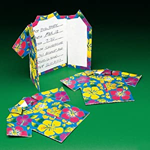 Click to buy Hawaiian Aloha Shirt Luau Invitations (1dz.) Surfer Tiki Party Invitesfrom Amazon!