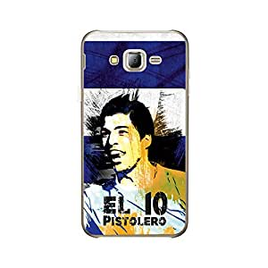 ezyPRNT Back Skin Sticker for Samsung Galaxy J2 Luiz Saurez 'EL pistolero' Football Player