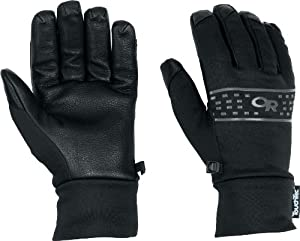 Outdoor Research Men's Sensor Gloves (Black, Small)
