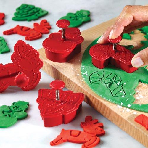 Cake Boss Decorating : Cake Boss Decorating Tools 4 Piece Christmas Fondant Press ...