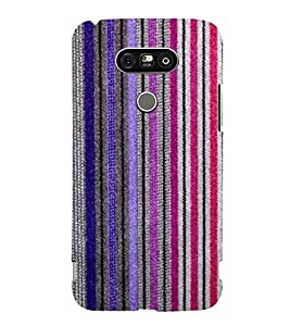 Fantastic Line Pattern 3D Hard Polycarbonate Designer Back Case Cover for LG G5 :: LG G5 H850 H820 VS987 LS992 H860N US992
