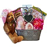 "A Special Gift For You Gift Basket with Singing Bear ""You Are My Hero"""