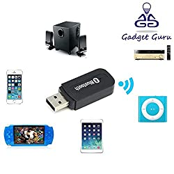 GadgetGuru Bluetooth Music Streaming Kit for car stereo, PC speakers or Home theater