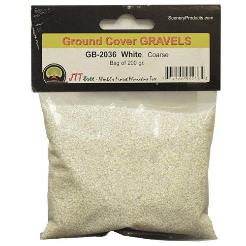 JTT Scenery Products Ballast and Gravel, White, Coarse