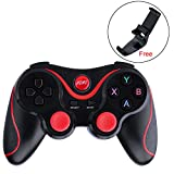 Sinbadteck Bluetooth Gamepad Game Controller for Samsung S7 S6 Edge HTC LG Android VR TV Box Tablet PC Game Handle T3 Joystick
