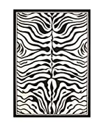 Chic'Orange Alfombra Cosmo (Blanco / Negro)