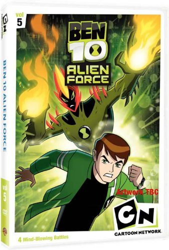 Ben 10 - Alien Force Vol.5 [DVD]